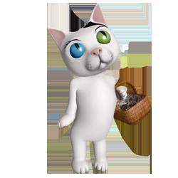 whitecat small